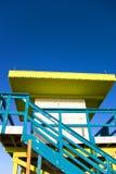 De Hut van de badmeester Stock Foto's