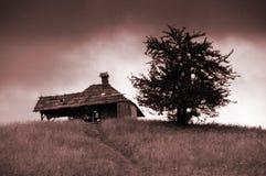De Hut van de berg Stock Afbeeldingen