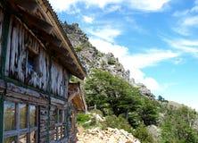De hut van de berg Royalty-vrije Stock Foto's