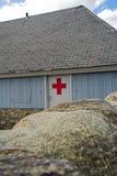 De hut van de eerste hulp Stock Afbeeldingen