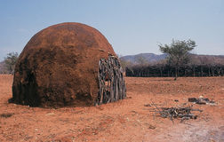 De Hut van de modder Royalty-vrije Stock Afbeeldingen