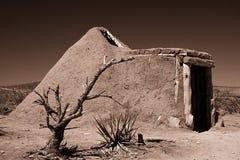 De Hut van de modder in Grote Canion Stock Foto's