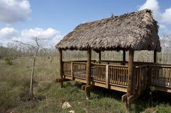 De hut van de observatie Royalty-vrije Stock Foto