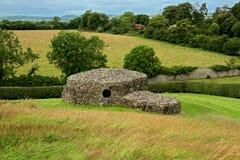 De hut van de steen in Newgrange royalty-vrije stock afbeeldingen