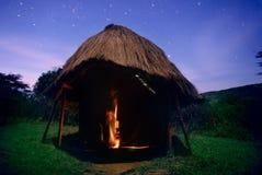 De hut van de ster Royalty-vrije Stock Foto's