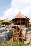 De hut van de toevlucht in Thailand. Stock Afbeelding