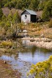 De Hut van de wildernis Stock Afbeeldingen