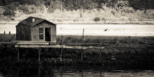 De Hut van Fishermens Royalty-vrije Stock Afbeeldingen