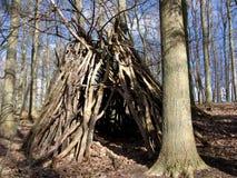 De Hut van Forrest Stock Foto's
