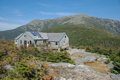 De Hut van Greenleaf AMC, Franconia Inkeping, NH Royalty-vrije Stock Afbeelding