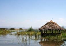 De Hut van het gras Stock Afbeeldingen