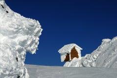 De Hut van het ijs Royalty-vrije Stock Foto's