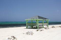 De hut van het strand Stock Afbeeldingen