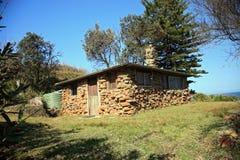 De hut van het strand Royalty-vrije Stock Fotografie