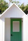 De hut van het strand stock foto's
