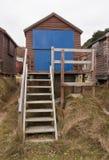 De Hut van het strand in Studland Royalty-vrije Stock Foto
