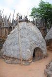 De hut van Konso Royalty-vrije Stock Afbeeldingen