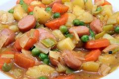 De hutspot van de aardappel met bonen Royalty-vrije Stock Foto