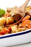 De hutspot van Turkije met aardappels Royalty-vrije Stock Foto's