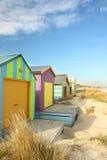 De hutten van het strand Royalty-vrije Stock Fotografie