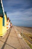 De hutten van het strand Royalty-vrije Stock Afbeeldingen