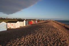 De Hutten van het strand Royalty-vrije Stock Foto's