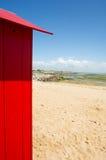 De hutten van het strand op eiland Oleron in Frankrijk Royalty-vrije Stock Foto's
