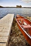 De huur van de Boot van het Park van de Staat van Potawatomi stock fotografie