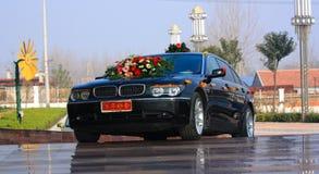 De huwelijksauto Royalty-vrije Stock Foto