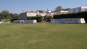 De huwelijkszalen en krijgen banketzalen in Ahmedabad stock videobeelden