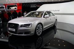 De Hybride van Audi A8 Stock Afbeeldingen
