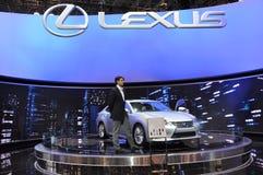 De Hybride van Lexus ES300h Stock Foto's
