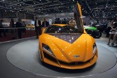 De Hybride van Namir van Giugiaro - de Show van de Motor van Genève van 2009 Royalty-vrije Stock Fotografie