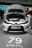 De Hybride van Toyota Yaris Stock Afbeeldingen