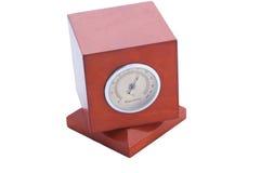 De hygrometer van de lijst stock afbeeldingen
