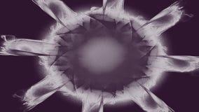 De hypnosespiraal, concept voor hypnose, dalend patroon, abstracte achtergrond van sprankelende cirkels kleurde textuur stock illustratie