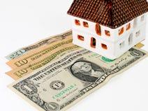 De Hypotheek van het huis Stock Foto