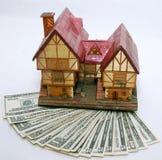 De hypotheek van het huis Stock Afbeeldingen