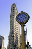 De iconische 5de Wegklok in de Stad van New York Royalty-vrije Stock Afbeeldingen