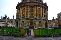 De iconische Radcliffe-Camera bouw van Oxford royalty-vrije stock afbeelding