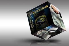 De Ideeën en de Oplossingen van het Succes van de marketing Royalty-vrije Stock Afbeelding