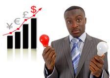 De Ideeën van de economie Royalty-vrije Stock Afbeeldingen