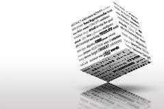De Ideeën en de Oplossingen van het Succes van de marketing Stock Foto