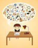 De Ideeën van de school Stock Fotografie