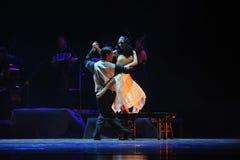 de identiteit van het geheim-tango Dansdrama Royalty-vrije Stock Fotografie