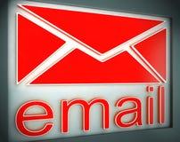 De Identiteit van Phishingsscam E-mail het Waakzame 3d Teruggeven Stock Fotografie