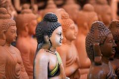 de idolen van Boedha royalty-vrije stock foto