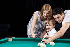 De idylle van de familie royalty-vrije stock afbeelding