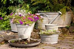 De idylle van de tuin royalty-vrije stock foto