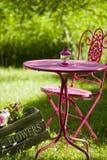 De idylle van de tuin Royalty-vrije Stock Afbeeldingen